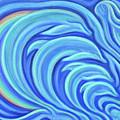 Rainbow Dolphins by Maya Soaringsun