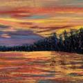 Rainbow Evening by Laura Gabel