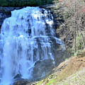 Rainbow Falls In Gorges State Park Nc 02 by Bruce Gourley