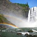 Rainbow Falls by Winston Rockwell