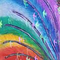 Rainbow Feathers by Masuma Pardiwala
