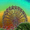 Rainbow Ferris Wheel by Tim Allen