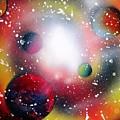 Rainbow Galaxy by Emily Cummings