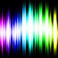 Rainbow Light Rays by Michael Tompsett