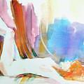 Rainbow Nude by Gertrude Palmer