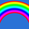 Rainbow On Sky by Miroslav Nemecek