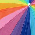 Rainbow On The Beach by Lori Pessin Lafargue
