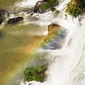 Rainbow On The Falls by Mirko Chianucci