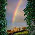 Rainbow Over County Clare, Ireland, by James Truett