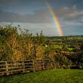 Rainbow Over County Clare by James Truett