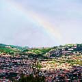 Rainbow Over Funchal by Brenda Kean