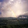 Rainbow Over Gunks by Paul Sachtleben