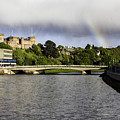 Rainbow Over Inverness by Fran Gallogly