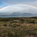 Rainbow Over Lago Toro by Stuart Gordon