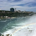 Rainbow Over Niagra Falls by Shelby Chasd