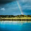 Rainbow Over Nombre De Dios by Jim DeLillo