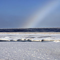Rainbow Over The Arctic by Anthony Jones