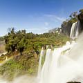 Rainbow Over The Waterfall by Mirko Chianucci
