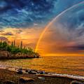 Rainbow Point by Rikk Flohr