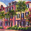 Rainbow Row Charleston Sc by Jeff Pittman