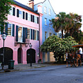 Rainbow Row Charleston by Susanne Van Hulst