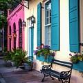 Rainbow Row  by Harriet Feagin