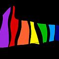 Rainbow Shark by Piotr Dulski
