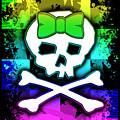 Rainbow Skull by Roseanne Jones