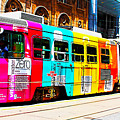 Rainbow Streetcar by Alex Pyro
