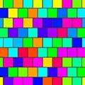 Rainbow Tiles by Miroslav Nemecek