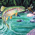 Rainbow Trout by Bette Gray