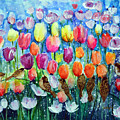 Rainbow Tulips by Ashleigh Dyan Bayer