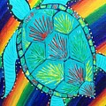 Rainbow Turtle by Sue Gurland
