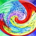 Rainbow Twirl by Hazel Holland