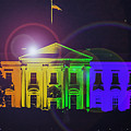 Rainbow White House Flare by John Jack
