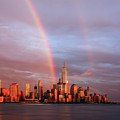 Rainbows In Nyc by Anthony Fields