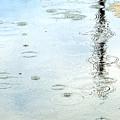 Raindrop Abstract by Kae Cheatham