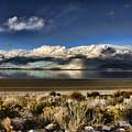 Rainfall Over The Salt Lake by Douglas Barnard