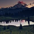 Rainier Color by Gene Garnace