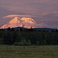 Rainier Dusk by Mike Reid