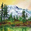 Rainier Sunrise by Sherry Shipley