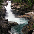 Rainier Waterfall by Ty Nichols