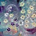 Raining Flowers by Gina De Gorna