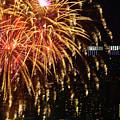 Raining Golden New Year Wishes by Regina Geoghan