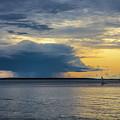 Rainstorm Offshore by Diane Diederich