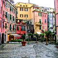Rainy Afternoon In Vernazza by Lynn Andrews
