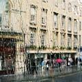 Rainy Bath by Lauri Novak