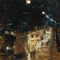 Rainy Berlin Street by Lesser