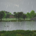 Rainy Day At The Lake by Jayne Wilson
