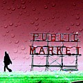 Rainy Day At The Market by Tim Allen